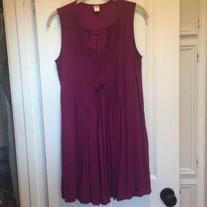Sleeveless tunic/dress